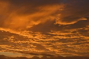 朝焼け雲の写真素材 [FYI04833324]