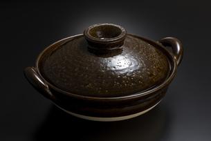 土鍋の写真素材 [FYI04833337]