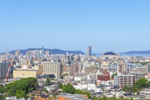 福岡の街並みの写真素材 [FYI04833532]