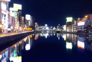 中洲の夜景の写真素材 [FYI04833536]