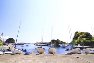 神奈川県 三崎漁港宮川地区の写真素材 [FYI04833826]