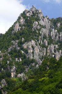 新緑の瑞牆山の写真素材 [FYI04834487]