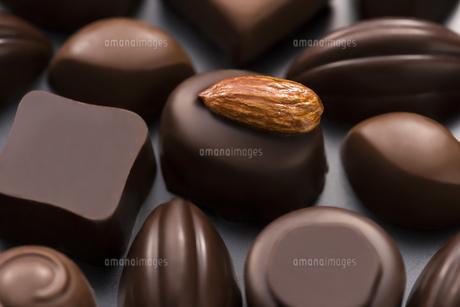 チョコレートの集合の写真素材 [FYI04834517]