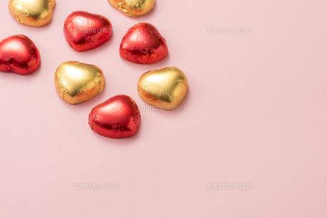 ハート型のチョコレートの写真素材 [FYI04834528]