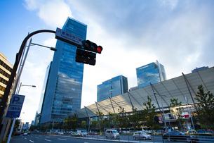 東京駅八重洲口グランルーフの写真素材 [FYI04834633]