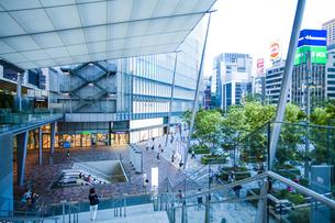東京駅八重洲口グランルーフの写真素材 [FYI04834644]
