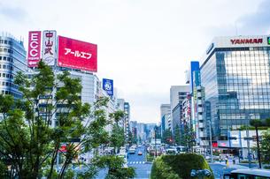 東京駅八重洲口の駅前広場の写真素材 [FYI04834645]