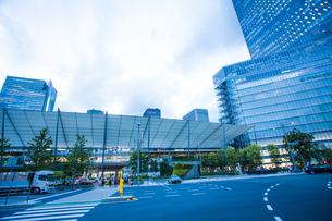 東京駅八重洲口グランルーフの写真素材 [FYI04834652]
