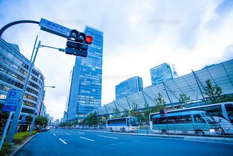 東京駅八重洲口グランルーフの写真素材 [FYI04834654]