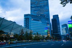 東京駅八重洲口グランルーフの写真素材 [FYI04834660]