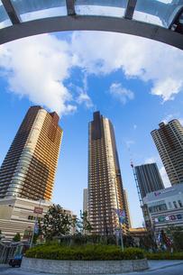 武蔵小杉のタワーマンション群の写真素材 [FYI04834667]