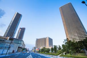 武蔵小杉のタワーマンション群の写真素材 [FYI04834776]