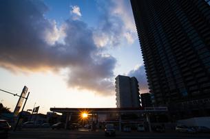 武蔵小杉のタワーマンション群の写真素材 [FYI04834777]