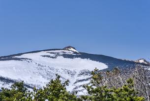 安達太良山 春の風景の写真素材 [FYI04834842]