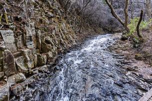 安達太良山 昇龍の滝の写真素材 [FYI04834871]