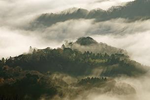12月 房総半島九十九谷の雲海の写真素材 [FYI04835224]