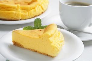 手作りチーズケーキの写真素材 [FYI04835255]