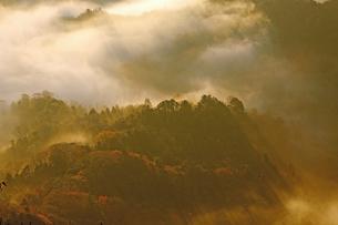 12月 房総半島九十九谷の雲海の写真素材 [FYI04835280]