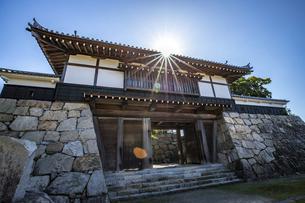 川之江城・櫓門の写真素材 [FYI04835321]