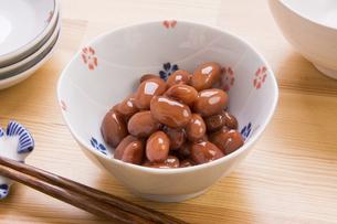 金時豆の煮豆の写真素材 [FYI04836112]