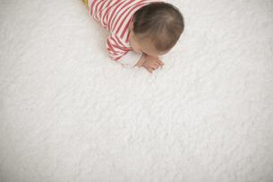 ハイハイする赤ちゃんの写真素材 [FYI04836375]