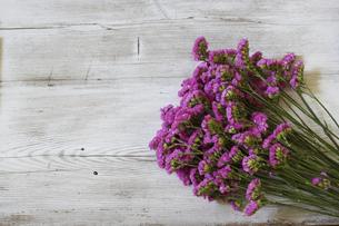 スターチスの花束の写真素材 [FYI04836795]