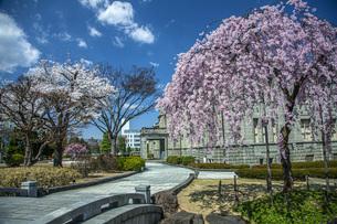 春の文翔館の写真素材 [FYI04837298]