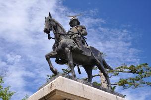 伊達正宗騎馬像の写真素材 [FYI04837454]