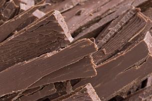 刻みチョコレートの写真素材 [FYI04838103]