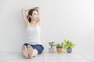 おうちフィットネスの写真素材 [FYI04838215]