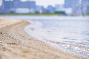 東京・お台場のビーチの写真素材 [FYI04838235]