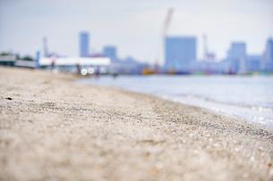 東京・お台場のビーチの写真素材 [FYI04838236]