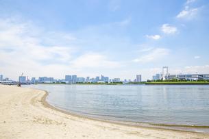 東京・お台場のビーチの写真素材 [FYI04838240]