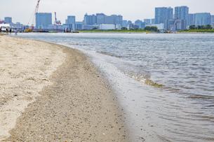 東京・お台場のビーチの写真素材 [FYI04838243]