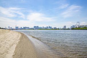 東京・お台場のビーチの写真素材 [FYI04838244]