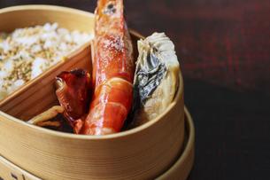和食の弁当の写真素材 [FYI04838433]