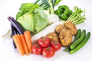 野菜の集合の写真素材 [FYI04838902]