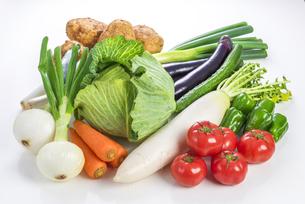 野菜の集合の写真素材 [FYI04838903]