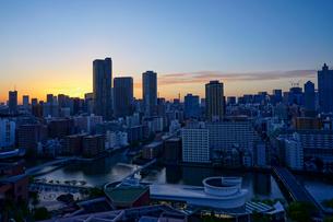 東京の夕暮れの写真素材 [FYI04839401]