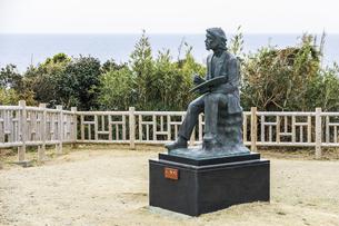 太平洋を望む八幡さん公園の写真素材 [FYI04840336]