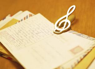 手紙の写真素材 [FYI04840407]
