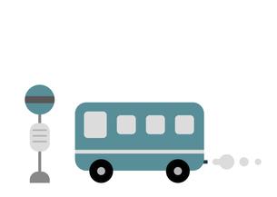 バスとバス停のイラストのイラスト素材 [FYI04840932]