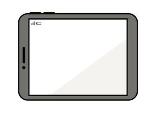 タブレットPCのイラスト素材 [FYI04841582]