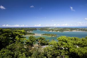 上空から眺める嵐山展望台の写真素材 [FYI04842304]