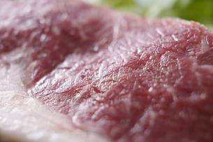 和牛赤身ステーキの写真素材 [FYI04842601]