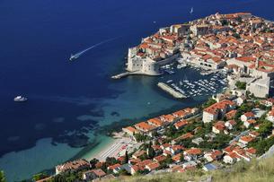 アドリア海の真珠クロアチア・ドブロヴニク旧市街の写真素材 [FYI04842677]