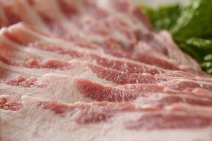 国産豚バラ肉の写真素材 [FYI04842680]
