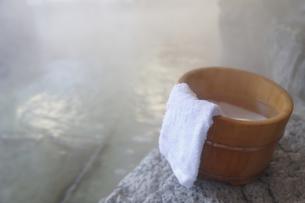 露天風呂の写真素材 [FYI04842701]