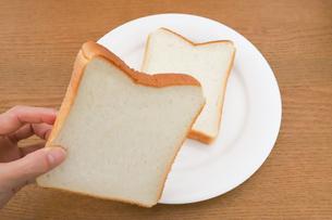 耳付きのパンの写真素材 [FYI04843247]