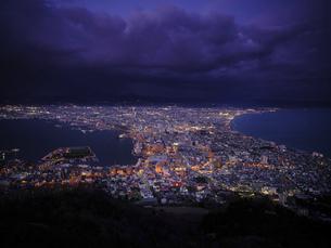 函館の夜景の写真素材 [FYI04843312]